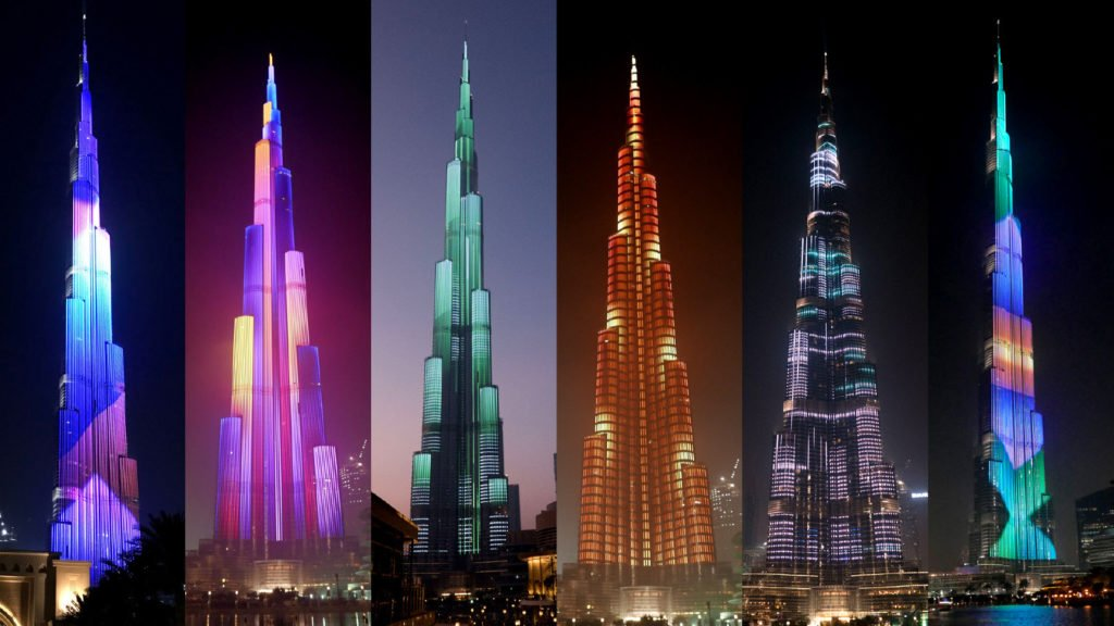 Facade Lighting Technology at Burj Khalifa Setting-up a New Trend in Civil Engineering _Apaha Trainers and Consultants Pvt Ltd