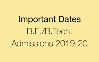 Important Dates for First Year B.E.:B.Tech. Admissions 2019-20_Apaha Trainers and Consultants Pvt. Ltd..001