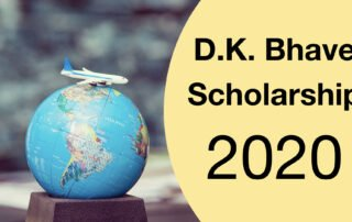 D.K. Bhave Scholarship for students pursuing Master's Degree in Engineering Faculty Abroad_D.K. Bhave Scholarship 2020_Apaha Trainers and Consultants.001