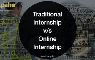 Benefits of doing an online internship for civil engineering students | Apaha Trainers and Consultants | Best Online Civil Engineering Internship | Internship in civil engineering online | Online internship for civil engineering students | Best place to do online internship in civil engineering for civil engineers |